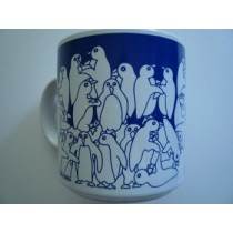 Penguins - Blue Nitetime Animates Mug