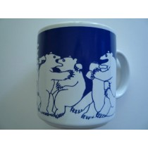 Bears - Blue Nitetime Animates Mug