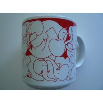 Elephants - Red Nitetime Animates Mug