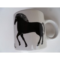 Le Cheval (Horse) Vintage French Mug