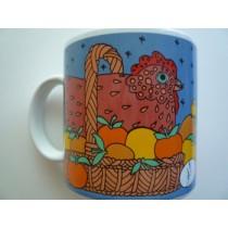 Chicken-in-a-Basket - Classy Critter Mug