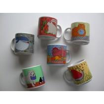 Classy Critter Mug Set (6/set)