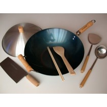 Traditional Chinese Kitchen Wok Set