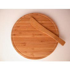 Bamboo Round Cheese Board