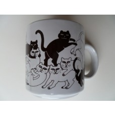 Cats- Brown Daytime Animates Mug