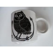 La Chouette (Owl) Vintage French Mug