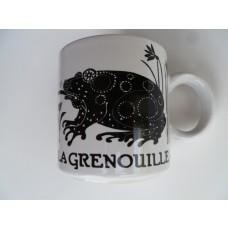La Grenouille (Frog) Vintage French Mug