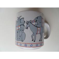 Election Wild Donkeys and Elephants Mug