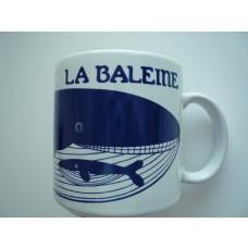 Le Baleine - Vintage French Mug