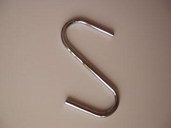 Track Rack Steel S Hook (6/pkg)