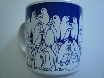 Penguins - Blue Nitetime Animates Mug