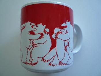 Bears - Red Nitetime Animates Mug