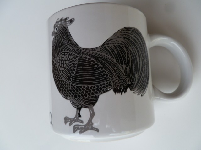 Le Coq (Rooster) Vintage French Mug