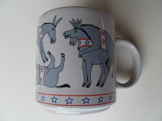 Election Wild Donkeys Mugs