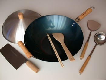 Traditional Chinese Kitchen Wok Set (Out of Stock, Accepting Pre-orders. ETA October)