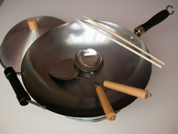 Classic Kitchen Wok Set