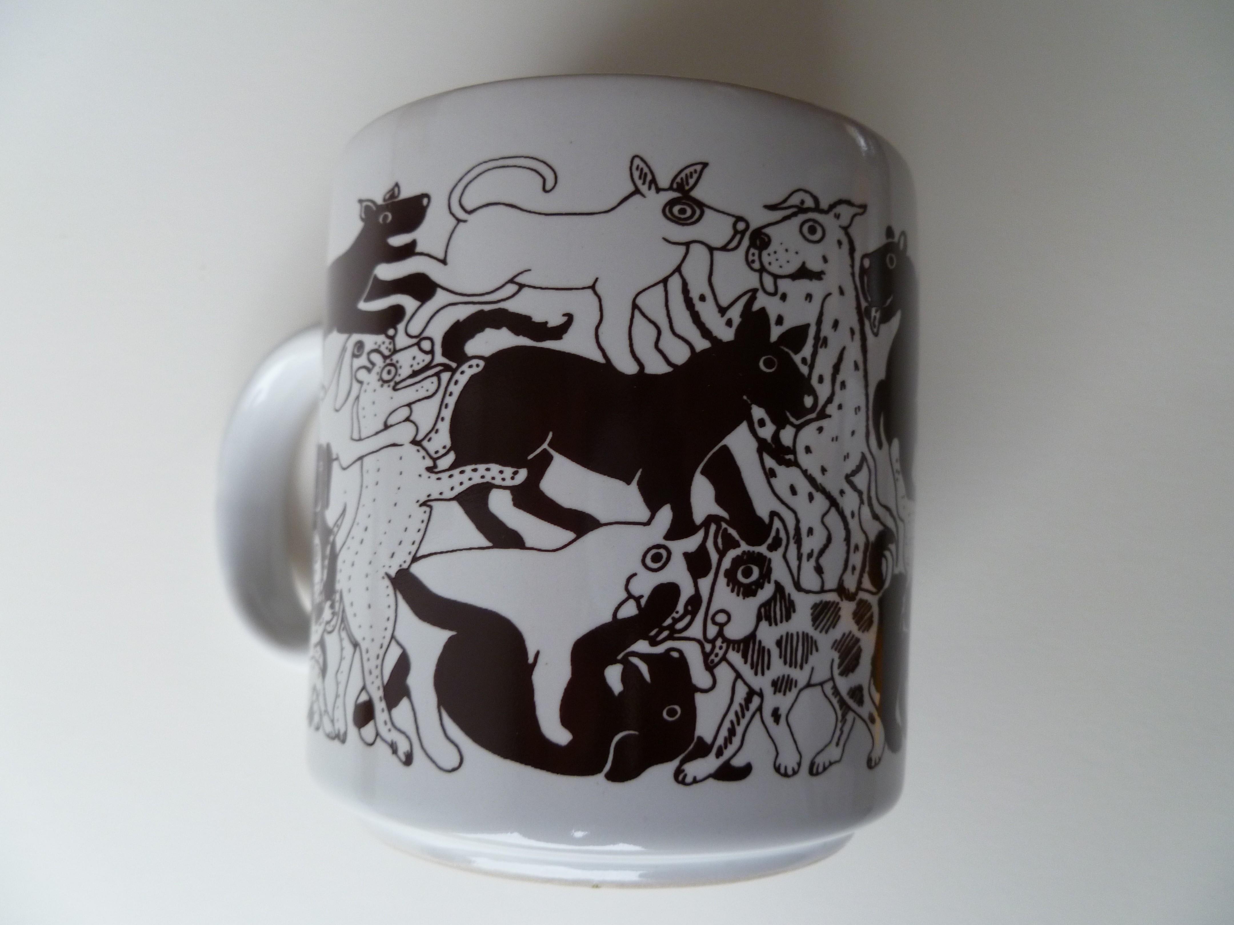 Dogs- Brown Daytime Animates Mug