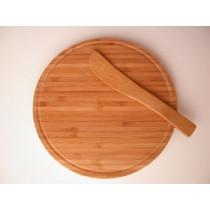 Bamboo Round Cheese Board