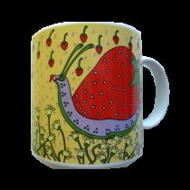 Strawberry Snail - Classy Critter Mug 50626