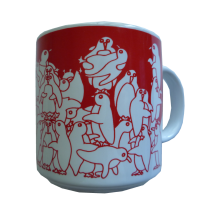 Penguins - Red Nitetime Animates Mug 50685
