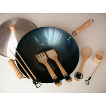 Bamboo & Wok Set (Out of Stock, Accepting Pre-orders. ETA August)