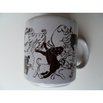 Dogs- Brown Daytime Animates Mug