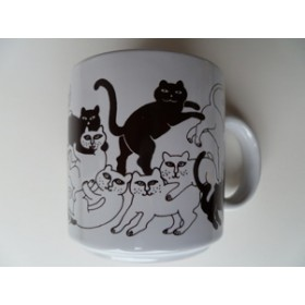 Cats- Brown Daytime Animates Mug