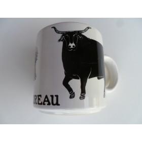 Le Taureau (Bull) Vintage French Mug