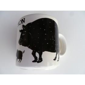Cochon (Pig) Vintage French Mug