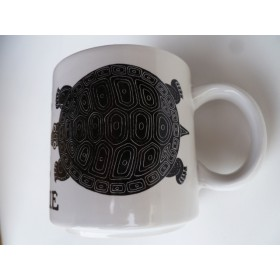 La Tortue (Turtle) Vintage French Mug