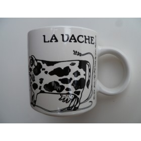 La Vache (Cow) Vintage French Mug