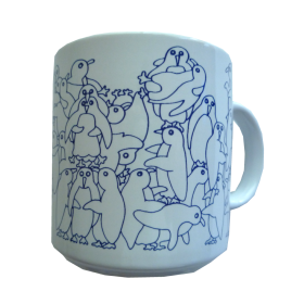 Penguins - Blue Daytime Animates Mug
