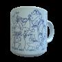 Penguins - Blue Daytime Animates Mug 50670